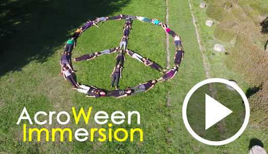 AcroYoga immersion halloween